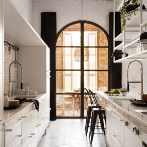 clean line kitchen design