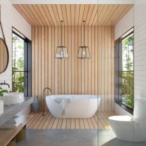 upgraded bathtub clean bathroom design