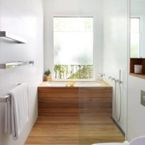 San Francisco interior design shower